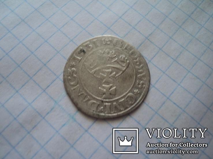 Гданьский грош 1531 г, фото №8