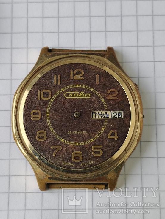 Годинники Ау в позолоті на ремонт, фото №5