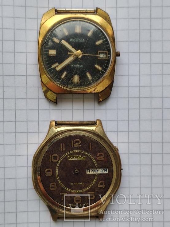 Годинники Ау в позолоті на ремонт