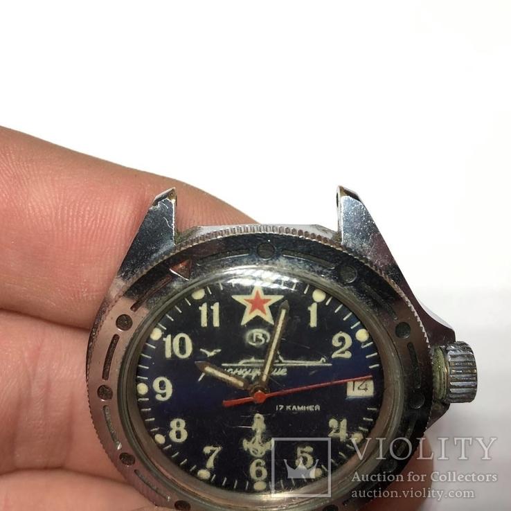Часы Командирские 17 камней, СССР, фото №5