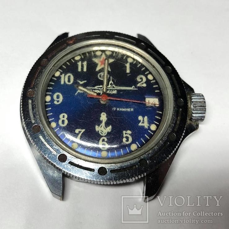 Часы Командирские 17 камней, СССР, фото №7