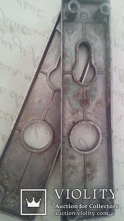 Накладки на дверь для замка  2 шт, фото №2