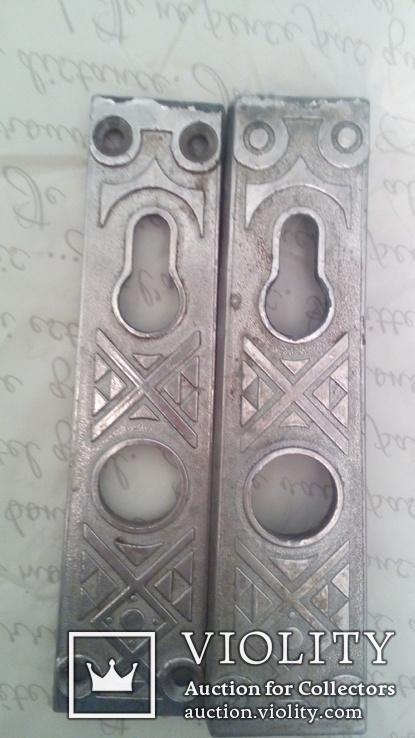 Накладки на дверь для замка  2 шт, фото №3
