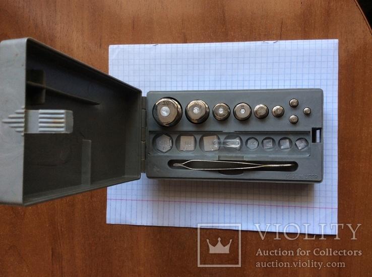 Комплект гирек Г- 4- 211,10 в коробке, фото №2