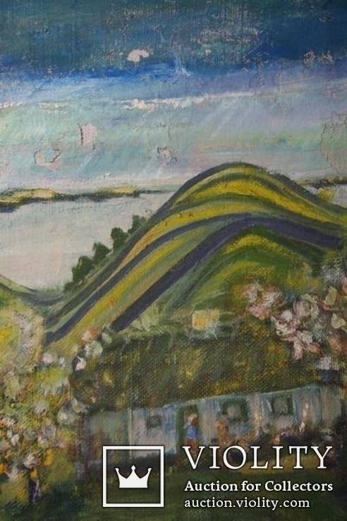 Дом на горе. Автор неизвестный, фото №11