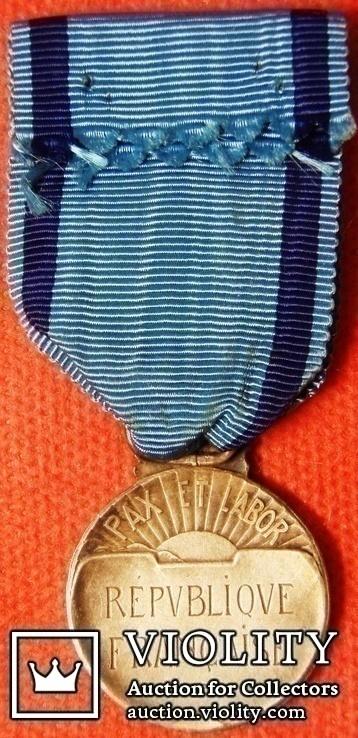 """Франция, Почетная медаль """"За Спортивные Заслуги"""", фото №3"""