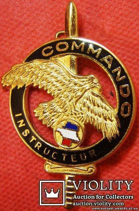 Франция, Знак Центра военной подготовки Коммандос, фото №2