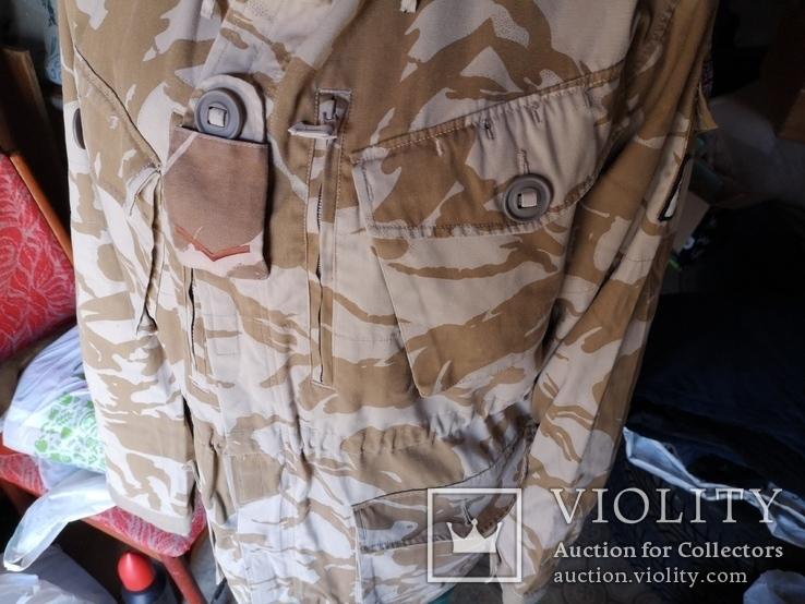 Куртка парка бушлат англия НАТО форма DDPM  пустыня Сахара, фото №4