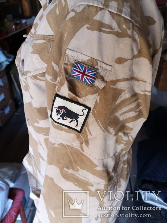 Куртка парка бушлат англия НАТО форма DDPM  пустыня Сахара, фото №2