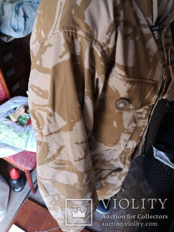 Куртка парка бушлат англия НАТО форма DDPM  пустыня Сахара, фото №9