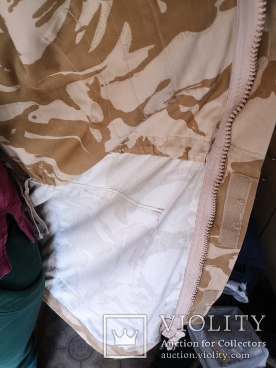 Куртка парка бушлат англия НАТО форма DDPM  пустыня Сахара, фото №11