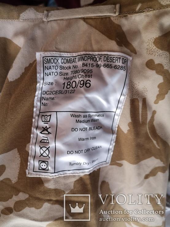 Куртка парка бушлат англия НАТО форма DDPM  пустыня Сахара, фото №3
