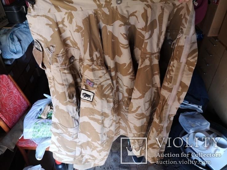 Куртка парка бушлат англия НАТО форма DDPM  пустыня Сахара, фото №13