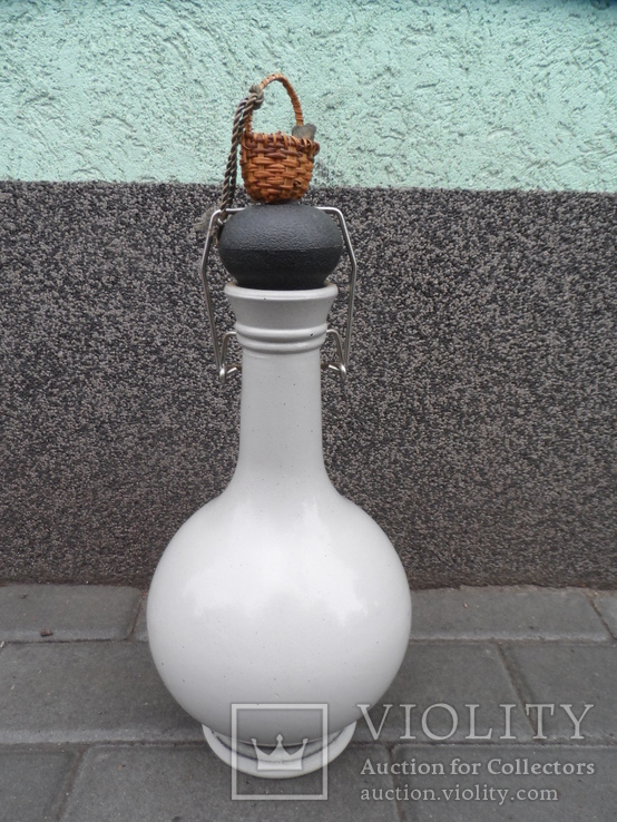 Кувшин бутылка для пива вина 2 L Стекло Германия лот 2, фото №4