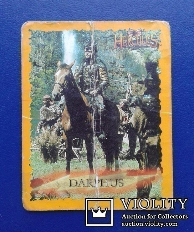 Hercules, Daphus (Стикер, Merlin collections - №23 и 24)., фото №2
