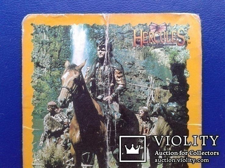 Hercules, Daphus (Стикер, Merlin collections - №23 и 24)., фото №3