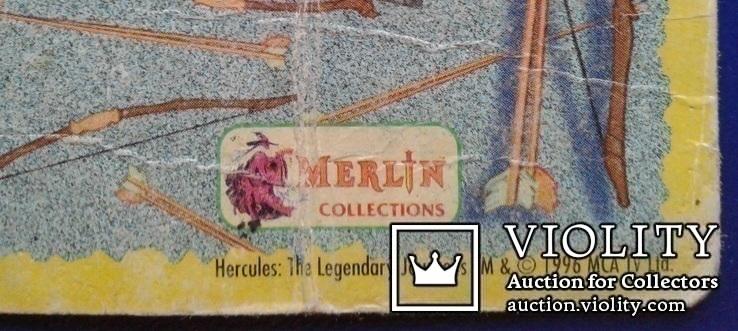 Hercules, Daphus (Стикер, Merlin collections - №23 и 24)., фото №9