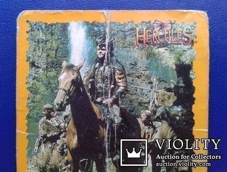 Hercules, Daphus (Стикер, Merlin collections - №23 и 24)., фото №11