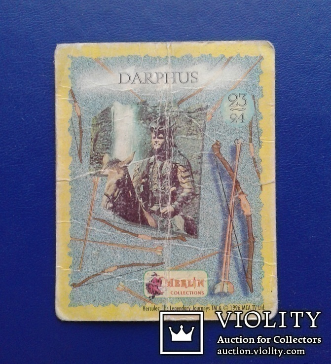 Hercules, Daphus (Стикер, Merlin collections - №23 и 24)., фото №12