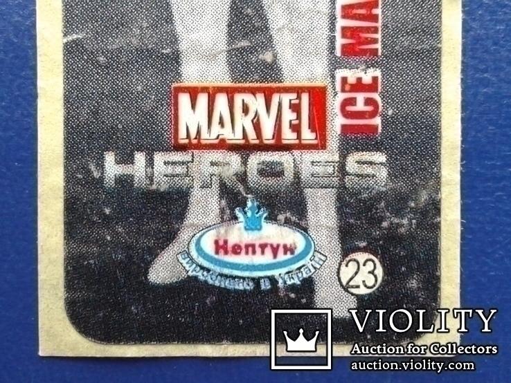 Вкладыши Marvel №23, Trans formers №41., фото №5