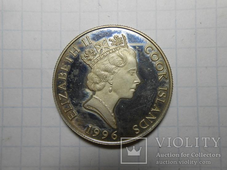 2 доллара 1996 год острова Кука, фото №3