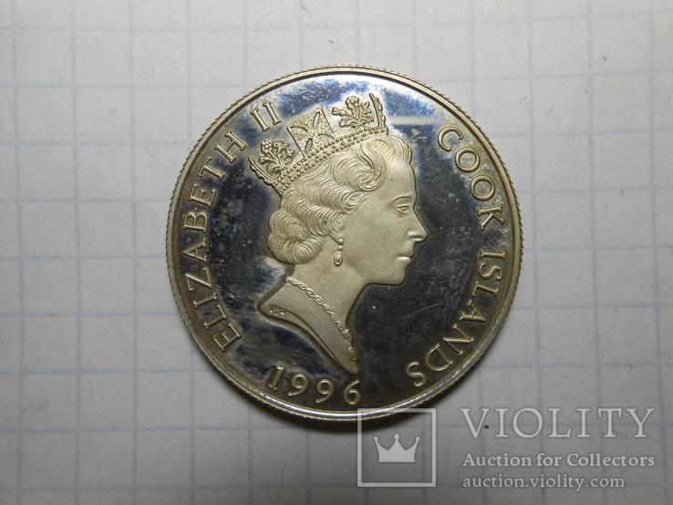 2 доллара 1996 год острова Кука, фото №4