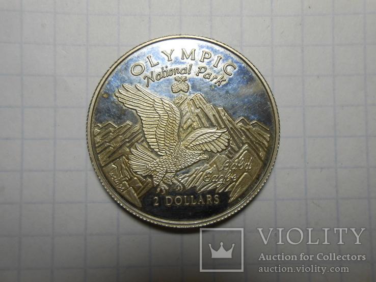 2 доллара 1996 год острова Кука, фото №6