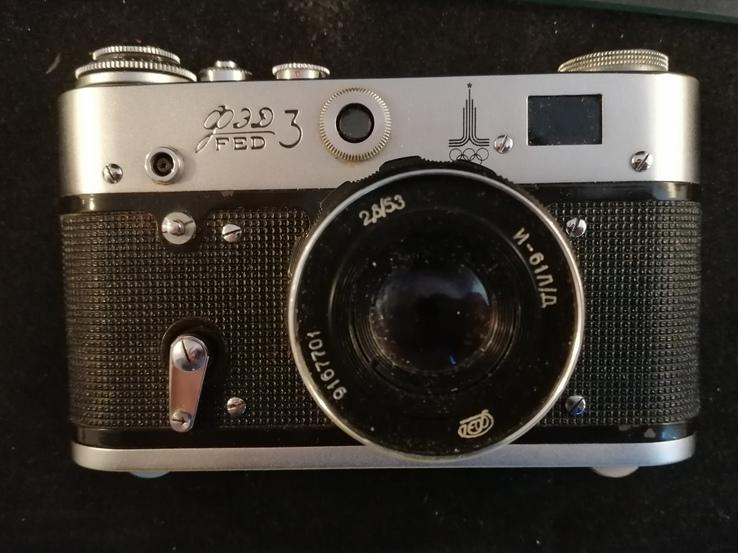ФЭД-3 — советский дальномерный фотоаппарат, фото №3