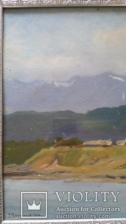 Л.Харламов Байкальски 25.7.1969, 34,4х48,8 см, фото №3