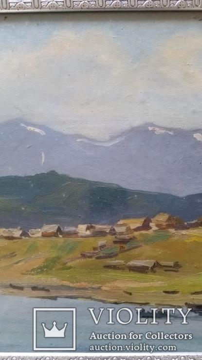 Л.Харламов Байкальски 25.7.1969, 34,4х48,8 см, фото №4