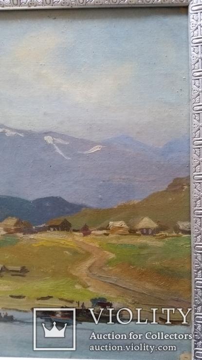 Л.Харламов Байкальски 25.7.1969, 34,4х48,8 см, фото №5