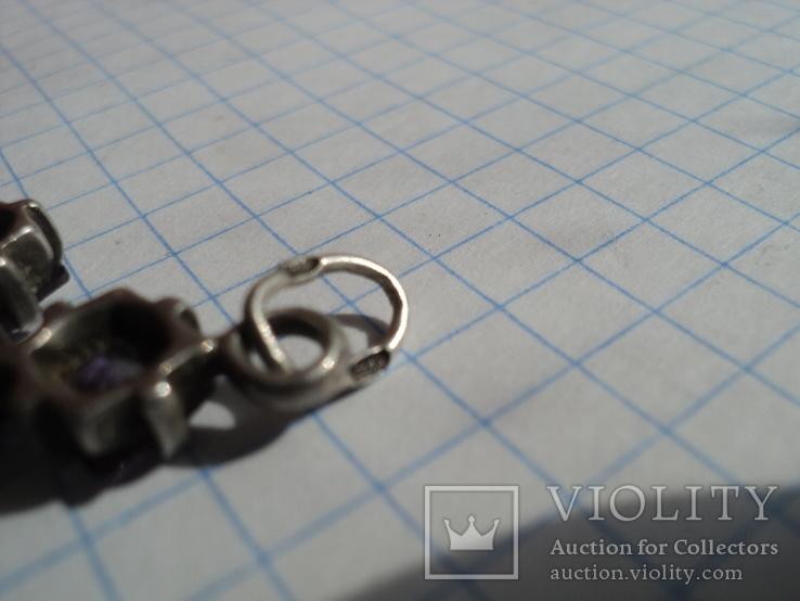 Крестик серебро 925, фото №8