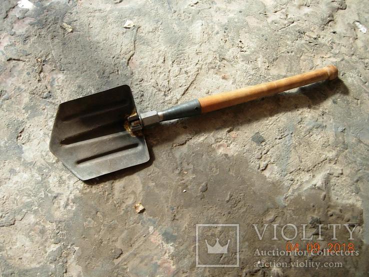 Лопата саперная ВДВ СССР.с чехлом...., фото №3