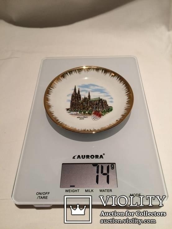 Декоративная сувенирная тарелка Кёльн, фото №3