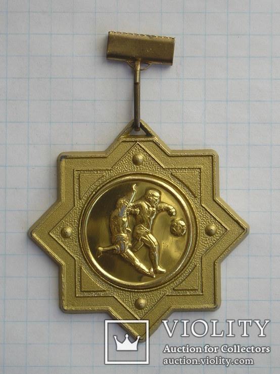 Спортивная медаль по футболу, фото №3