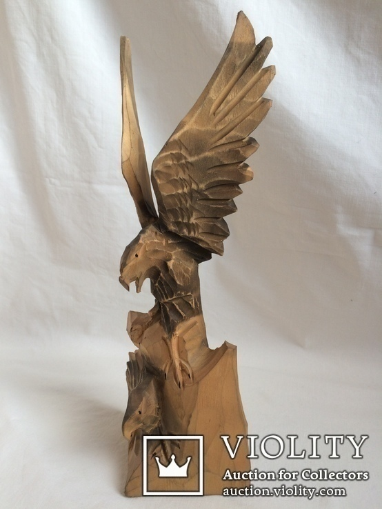 Два орла. деревянная фигура, фото №2