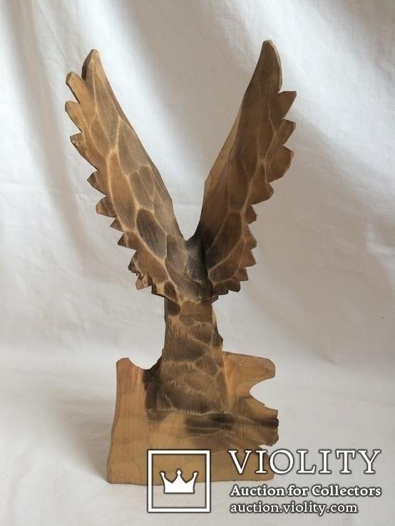 Два орла. деревянная фигура, фото №4