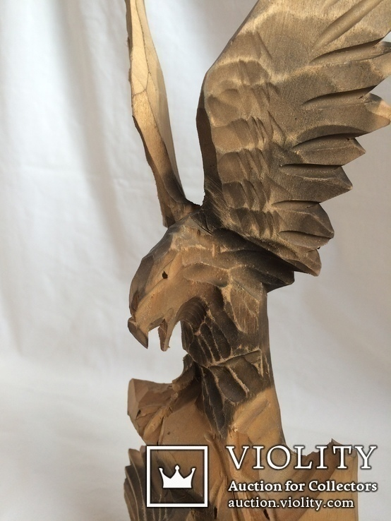 Два орла. деревянная фигура, фото №7