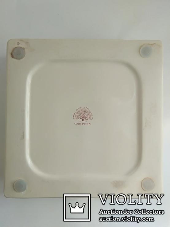 Пепельница Dunhill Seton Pottery Англия винтаж, фото №6