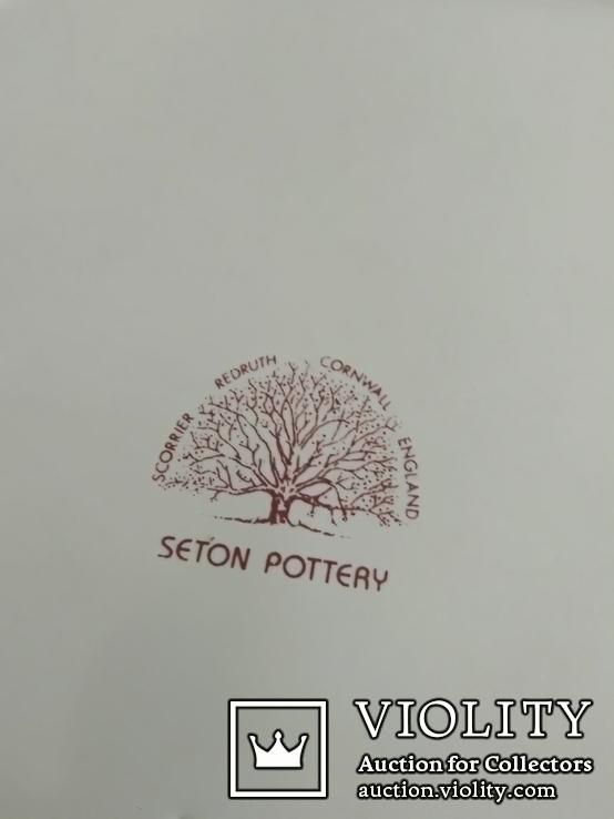 Пепельница Dunhill Seton Pottery Англия винтаж, фото №7
