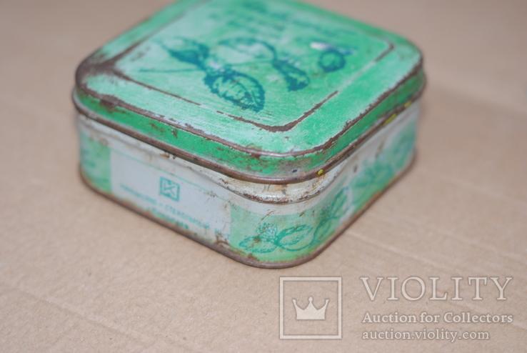 Коробка из под зубного порошка Мятный парфюмерно-стекольный комбинат г Николаев, фото №3