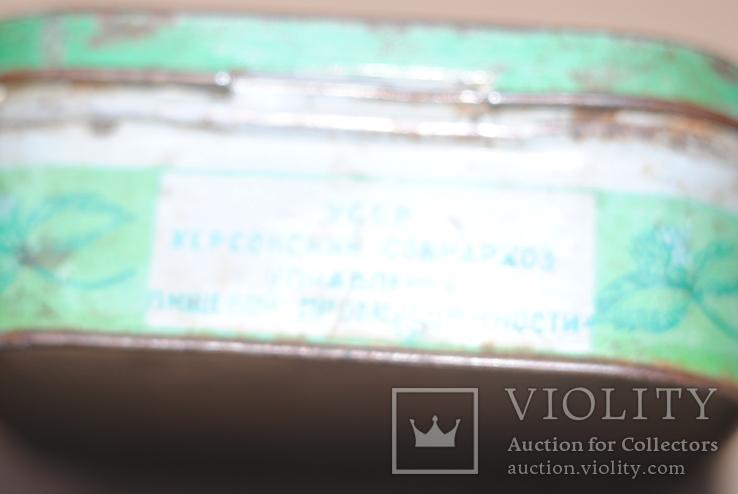 Коробка из под зубного порошка Мятный парфюмерно-стекольный комбинат г Николаев, фото №5