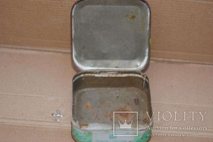 Коробка из под зубного порошка Мятный парфюмерно-стекольный комбинат г Николаев, фото №8