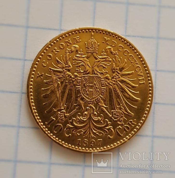 10 корон 1897 року, Австро-Угорщина, фото №5