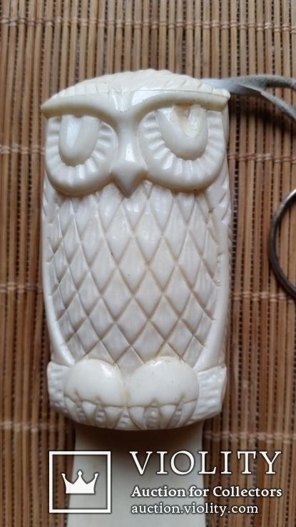 Ложка для взуття, кістка, фото №3