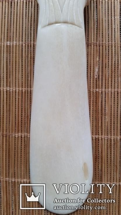 Ложка для взуття, кістка, фото №7