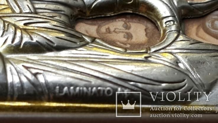 Икона Серебрение С Золотом Иосиф Мария Иисус, фото №7