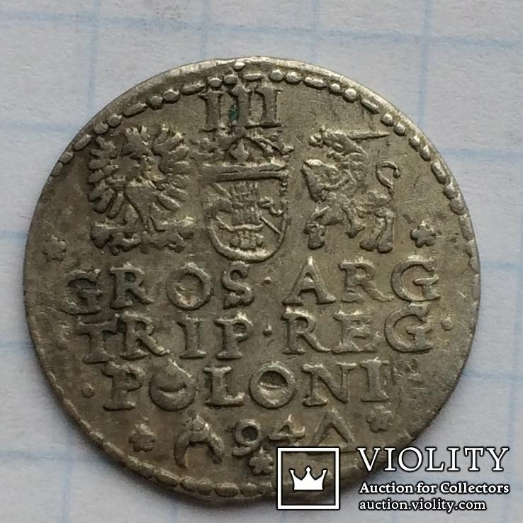 Трояк 1594 ( открытое кольцо и кольцо в POLONI ), фото №7