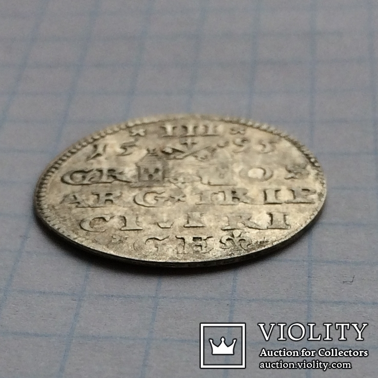 Трояк 1595, после D: LIV, фото №12