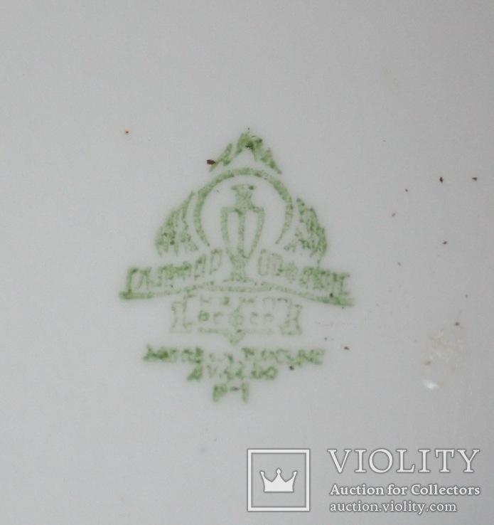 Овальный cалатник-супник РКВМФ без ручек ( зеленый )., фото №10